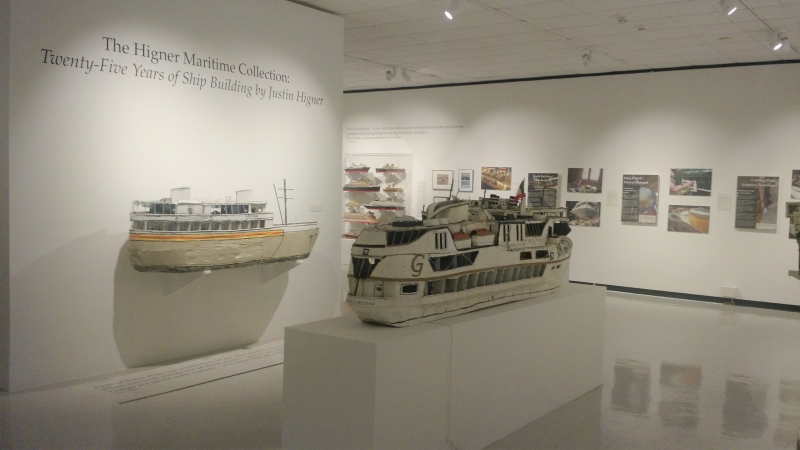 The Higner Maritime Collection: Twenty-Five Years of Ship Building by Justin Higner